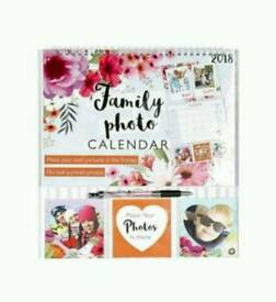 *NEW* 2018 Photo Insert Calendar
