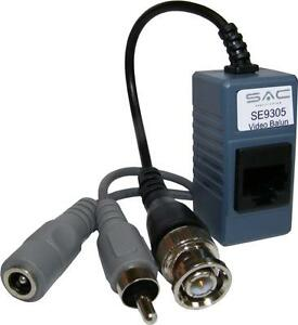 Pair-of-CCTV-Video-Audio-Power-CAT5E-Baluns-Run-CCTV-via-Cat5E-Network-Cable
