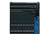 Yamaha Mixer - 20 Channel (16 Strip) with Effects