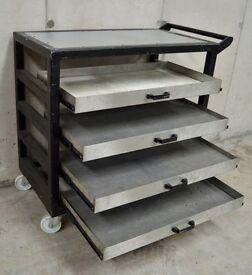 Stainless Steel Heavy Duty Trolly Cart