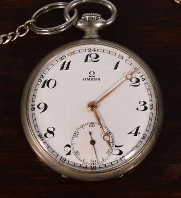 Vintage Swiss Omega Pocket Watch Early 1930's