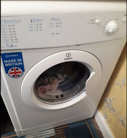 Indesit EcoTime IDV 75 7kg Air-Vented White Tumble Dryer