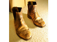 Boots - Brown Vintage Leather (Size 9)