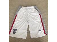 England football shorts Large