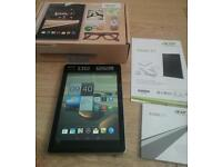 Acer icona A/1 tablet complete with manual and charger