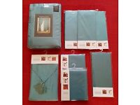 Brand New Unopened Dining Room set (curtains, napkins, runners, placemats)