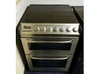 Zanussi Stainless Steel 60cm Ceramic Cooker - 12 Months Warranty - £180