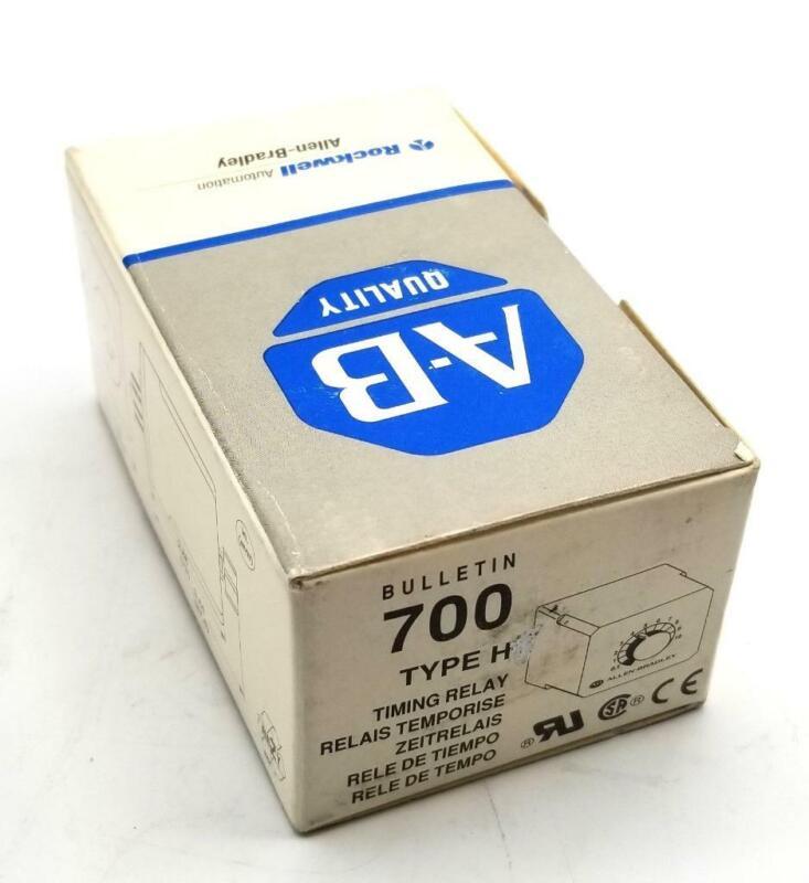 Allen Bradley 700-HT12AZ24 Timing Relay On Delay 0.1s-10s 24 VDC