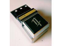 Rare Nobels DT-1 original silver straight distortion pedal