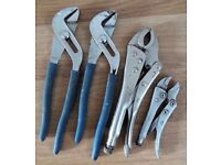 Pliers 4 of, different sizes