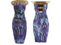 Stunning Karen Millen Bandeau Dress size 12