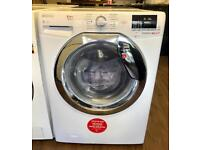 BRAND NEW HOOVER 8 + 6 KG 1600 SPIN WASHER DRYER IN WHITE ABSOLUTE BARGAIN ...!!