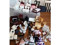 Massive bundle of dolls house furniture - dolls house emporium