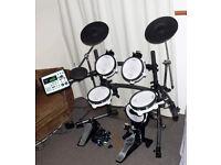 Roland TD-8 electronic V Drums kit & Mapex kick pedal FULL MESH VEX upgraded