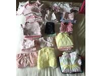 Baby Girls Large Clothes Bundle 0-3 months - over 50 items