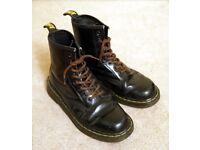Doc Martens Boots , Size 5 , Black