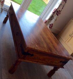 John Lewis Maharani 4-drawer coffee table for sale
