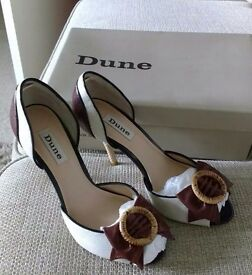 Dune shoes & clutch bag