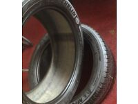 295-40-20 - Michelin x2 Tyres + FREE FITTING