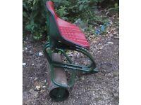 Webb Lawnmower Trailer Roller Seat
