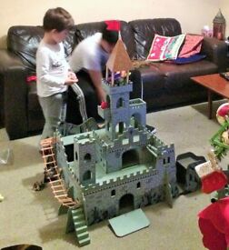 Toy Wooden Medieval Castle by Universe of Imagination