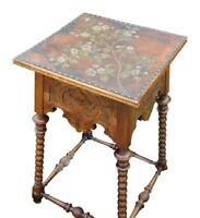antiker Tisch Beistelltisch Nussbaum Blumen Einzelstück top ???? Niedersachsen - Stuhr Vorschau