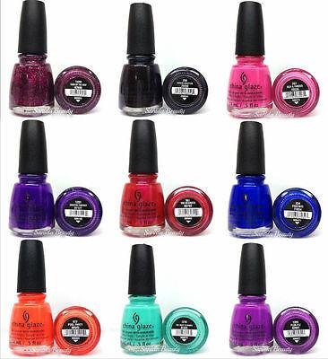 China Glaze Nail Lacquer- Nail Polish Collection Series 7 - Pick Any Color China Glaze Nail Color