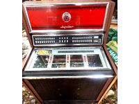 TRUE RETRO VINTAGE 1968-69 JUPITER J80 CLASSIC JUKEBOX SPARES OR REPAIRS AS A RESTORATION PROJECT