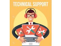 IT / Computer / Technical / PC Support / IT Solution / Network Setup / Office Setup / Server 24/7