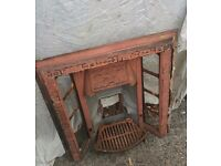 Cast Iron Fire Place