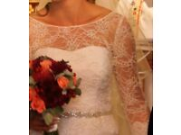 Beautiful Classic Custom Made Designer Wedding Dress
