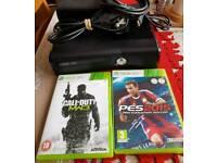 Xbox 360 Slim + 2 free games