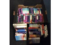 Large collection mills & boon romance & nora roberts books