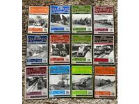 British railway illustrated 1994 magazines complete year