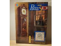 Puzz 3D Grandfather Clock jigsaw puzzle (real clock once made).
