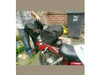 Tail bag for motorbike / motorcycle