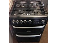 CANNON FULLY GAS COOKER 60cm WIDE DOUBLE OVEN WITH GRILL FREE DELIVERY AND WARRANTY