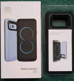Samsung S8 Rechargeable battery Case. New with box.