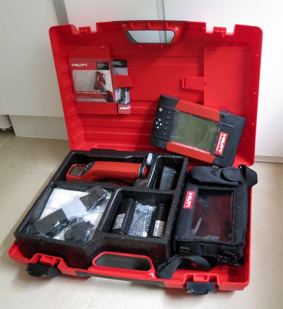 Hilti Ferroscan Ps 200 Ps200 Scanner Monitor Kit New