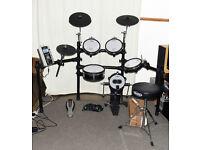 ROLAND V-Drums electronic TD-9 full mesh kit bundle - SUPERB!