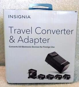 Insignia Travel Converter and Adapter