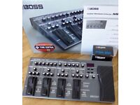 Boss ME-80 Multi effects pedal with Boss power supply