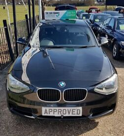 BMW 1 SERIES 2.0 116D ES 5d 114 BHP Apply for finance Online today! (black) 2012