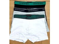Calvin Klein, Emporio Armani Mens Boxer Trunk Underwear, 3 in a Box, Wholesale Only