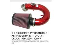 Celica 99-06 140bhp K&N typhoon induction kit