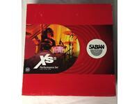 Sabian XS20 cymbals - performance set