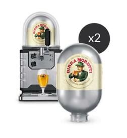 Blade Beer Machine with Dome and 2 x Birra Moretti Kegs - Brand New and Unopened