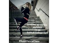 HIIT Cardio Exercise Sessions STRONG by Zumba Every Monday 7:40PM at Solihull College