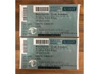 Lewis Capaldi tickets x 2, Manchester Academy 16th February 2018
