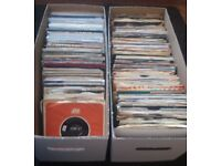OVER 300 x 7inch SINGLES FOR SALE - JOB LOT £50!!
